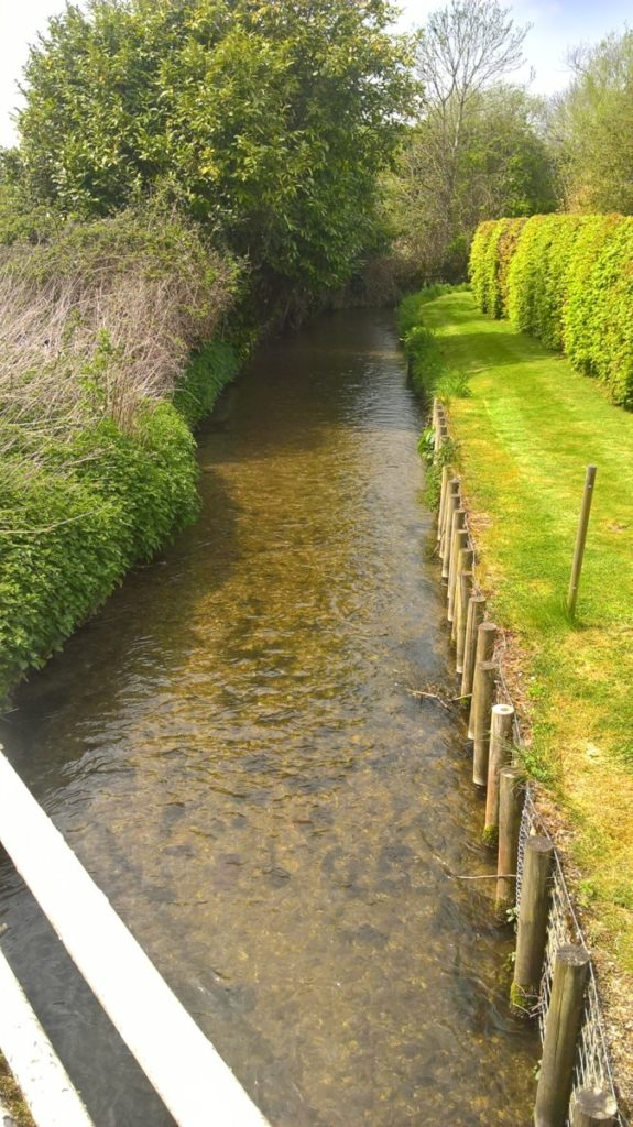 The Chalgrove Brook in Chalgrove
