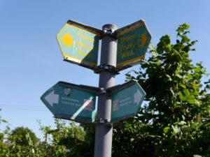 Thame Valley Walk signpost