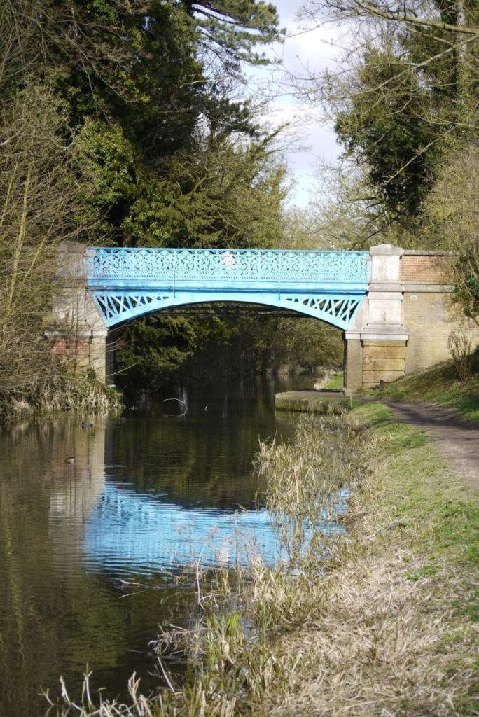Canal bridge on Wendover arm