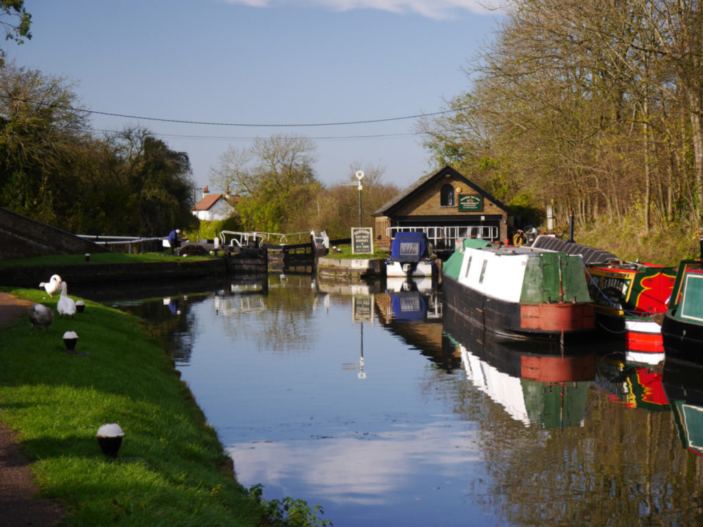 Grand union Canal at Marsworth